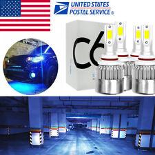 Ice Blue Hi/Lo Combo LED Headlight Bulb for Chevy Silverado 1500 2500 HD 01-06