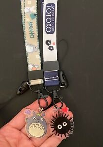 Totoro my neighbour soot sprites characters charm ID STRAP MOBILE PHONE LANYARD