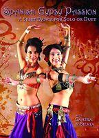 Spanish Gypsy Passion (With Silvia Salamanca): Belly Dance Fusion Choreography