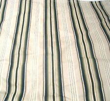 "Pottery Barn  Peninsula Stripe 20""x20"" pillow Sham Blue Green on Beige NEW"