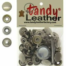 Tandy Leather 5/16 Inch Line 24 Snap fastener kit CT.15 w/Tools - Nickel