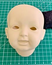 Vintage Unused Bisque Doll Head JDK Germany 1995 Irene Stone  (A9)