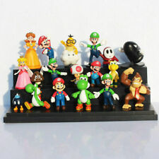 18 Pcs Super Mario mini Figure Cute Toys doll Action figures Collection Gift
