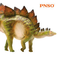 "PNSO 6.9"" Stegosaurus Model Dinosaur Figure Animal Decor Toy Collector Kids Gift"