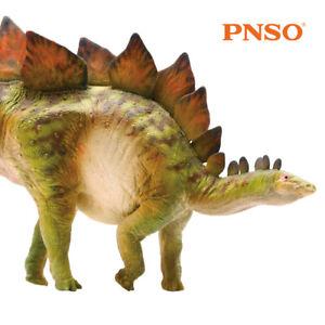 "PNSO 6.9"" Stegosaurus Model Dinosaur Figure Animal Decor Toy Collector Kids Gift"
