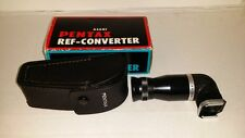Asahi Pentax Right Angle REF-CONVERTER SLR Hot Shoe Viewfinder Focusing Eyepiece