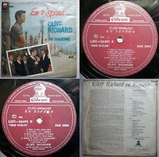 CLIFF RICHARD & THE SHADOWS WHEN IN SPAIN IN SPANISH UNIQ CVR RARE CHILEAN PRESS