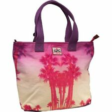 New Womens Superdry Summer Time Tote Bag Palm Beach Purple RRP £29.99