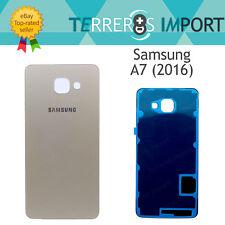 Tapa Trasera Bateria Cristal Dorado Repuesto Samsung Galaxy A7 (2016) A710F