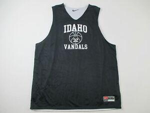 Idaho Vandals Nike Team Jersey Men's Black/White Reversible Used Multiple Sizes