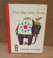 Vintage The Big Little Book: A Golden Tiny Book Elephant Cover