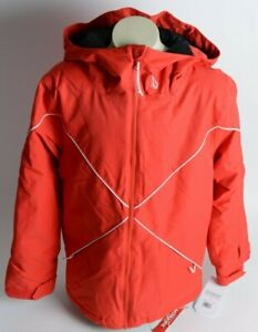 2021 NWT YOUTH VOLCOM X INSULATED JACKET $140 M Red 2 layer standard fit