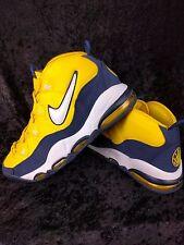 Nike Air Max Tempo LE HOH Michigan Yellow Blue White Pippen 410619-710 Sz 10.5