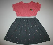 New Gymboree Dress Coral Gray Sequin Shooting Star 5 Year NWT Cosmic Club Girls