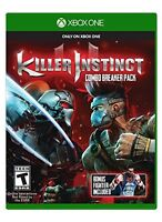 NEW Killer Instinct: Combo Breaker Pack (Microsoft Xbox One, 2014)
