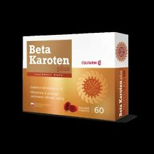 Beta Karoten plus- piękna opalenizna Beta Carotene Skin Tanning  60 tabs.
