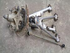 98 Yamaha Warrior 350 Left Upper & Lower A Arm w/ Spindle Hub & Tie Rod Loft