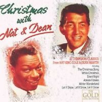 """NAT KING COLE """"CHRISTMAS WITH NAT & DEAN"""" CD NEUWARE"""