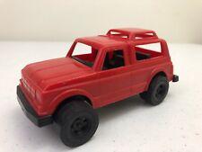 Vintage Tootsietoy Ford 4x4 Bronco Custom Plastic Toy Car