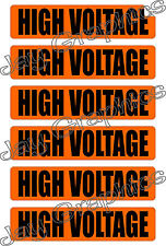High Voltage Labels & Conduit Markers | Stickers | Decals | Volt Labels Volts