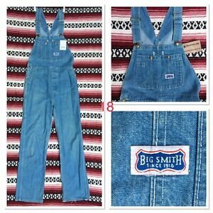 """31"""" (FITS 29"""") VINTAGE USA IMPORTED BIG SMITH DUNGAREES ROCKABILLY WORKWEAR"""