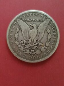 1879s Morgan Silver Dollar United States of America USA (900 Silver)