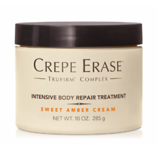 New Sealed Crepe Erase Intensive Body Repair Treatment Sweet Amber Cream 10 oz
