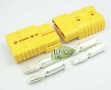 """2 Anderson Connectors + 2 Gauge Contacts, Sb175 600V, Big Yellow 3""""X2""""X1"""""""