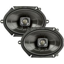 "Polk DB572 75W RMS 5"" x 7"" Marine Certified 2-Way Coaxial Car Stereo Speakers"