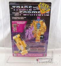 Transformers Original G1 AFA 80 Stunticon Dragstrip W/ Decoy MOSC 80/85/90