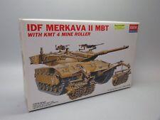 Academy 1359 1/35th SCALE IDF MERKAVA MBT 2 W/ KMT MINE ROLLER