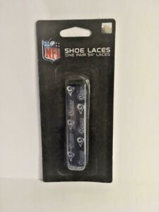 "Los Angeles Rams Shoe Laces Strings NFL Team Colors 54"" One Pair Lace Ups"