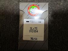 Needles for SINGER OVERLOCK  1 Pack, 10 Needles 2054 #11/75