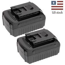 2 18V Lithium-Ion 4.0Ah Battery for Bosch BAT618G BAT619 BAT609 BAT609G BAT618