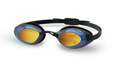Head Stealth Swimming Goggle - Mirrored Lenses  - Black/Blue