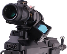 Weaver mount for Acog 4x32 w/ side rail for RMR, docter sight style sights