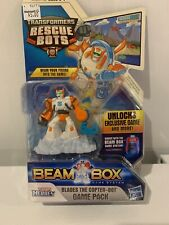 Transformers Rescue Bots BLADES THE COPTER BOT Figure Beam Box Game Pack