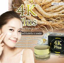 4K Plus Glutathione Night Cream Whitening Anti-aging Against Free Radicals 15 g.