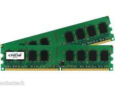 4GB (2x 2GB ) Memory RAM for Dell PowerEdge 830 850 840 860 R200 PC2-6400 800Mhz