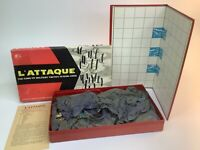 L'Attaque Military Board Game By H.P. Gibson & Sons London 1950s 100% Complete