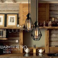 Industrial Pendant Lighting Vintage Chandelier Modern Ceiling Lamp Kitchen Light