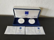 Greece 10 euro Silver PP Coins 2003 Olympic Games Athens 2004 Run & Equestrian