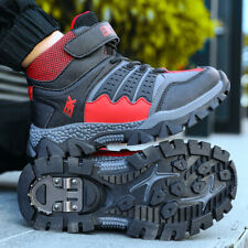 Boys Girls Hiking Camping Shoes Athletic Sneakers Non-slip Outdoor Sports