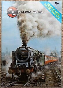 Airfix Railway System Catalogue Electric Train Sets 1978 & Price List Feb 1978