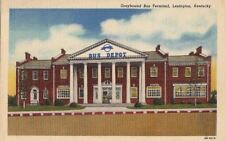 Postcard Greyhound Bus Terminal Lexington KY