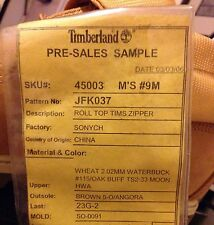 Timberland 1 Of 1 Unreleased Sample Model Wheat Super Boot 40 Below Size 9 Kith