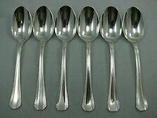 Christofle modèle Boréal, 6 cuillères à thé/café/dessert, métal argenté Lot  2/2
