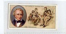 (Ja5773-100) Mitchell,Famous Scots,Lord Macaulay,1933#40