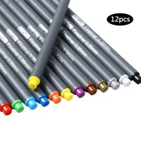 24 Colors 0.38mm Fineliner Color Pens Sketch Drawing Fine Point Art Marker Pen