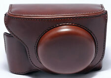 FUJIFILM X70 FUJI Brown Leather (?) Case Half Ever Ready